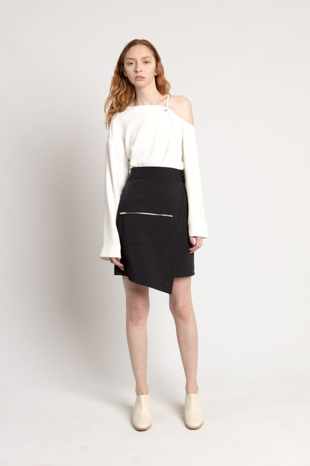 Nomia Midnight Navy Cargo Pocket Skirt
