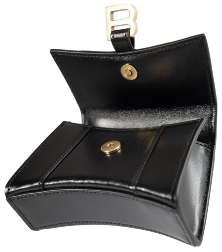 Balenciaga Hourglass Nano Bag - Black