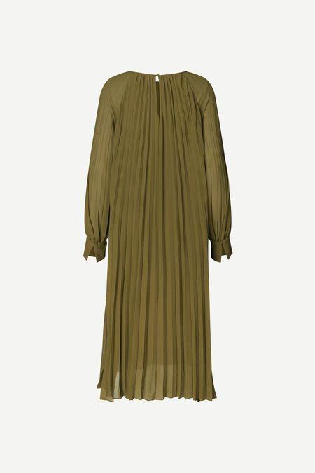 Samsoe Samsoe- Annmarie Dress in Olive