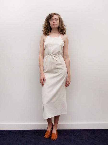 Baserange Apron Dress - Off White