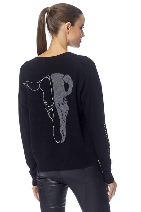 360 Cashmere Presley Sweater - Black