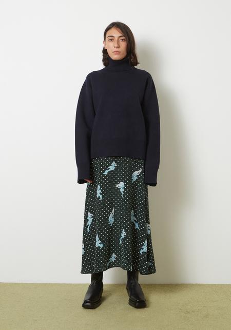 Sandy Liang  Milo Skirt - Princess Orb Print