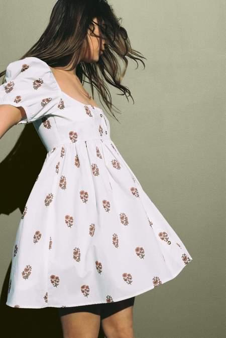 ciao lucia Diana Dress - Printed Blush