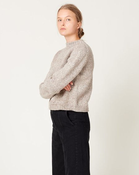 OUND Molle Wool Jumper swetaer - Stone