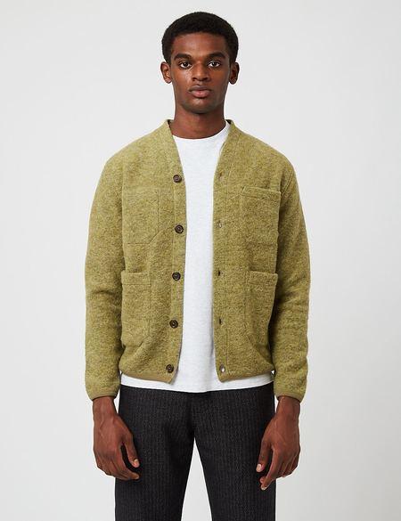 Universal Works Cardigan - green