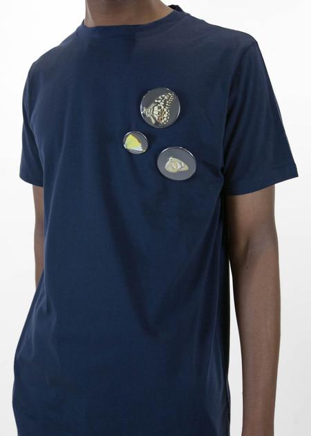 Matthew Miller Navy Marshall Fauna Badges T-Shirt