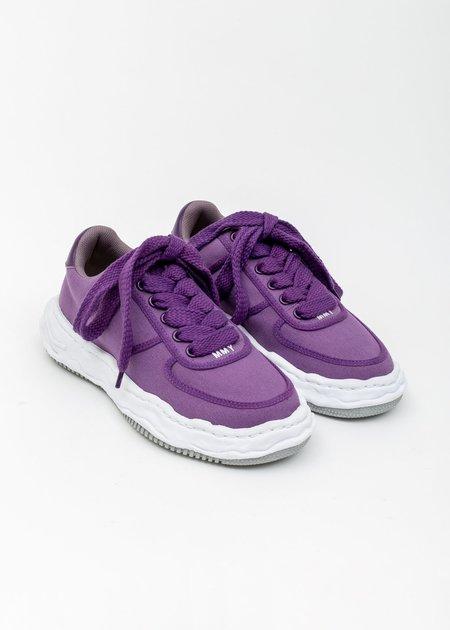 Mihara Yasuhiro Original Sole Canvans Sneaker - Purple