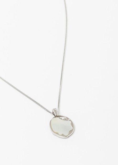William Shen Necklace - Silver/Pearl
