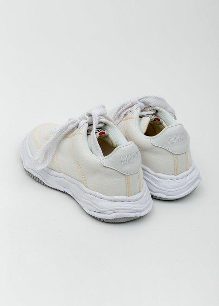 Mihara Yasuhiro Original Sole Canvans Sneaker - White