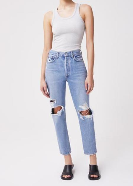 AGOLDE Fen High Rise Relaxed Tapered Jean - Wander