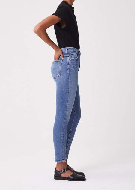 AGOLDE Pinch Waist Ultra High Rise Jeans - Amped