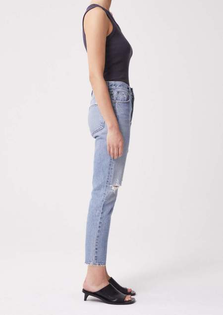 Vintage AGOLDE Riley High Rise Straight Crop  Jeans -  Escalate