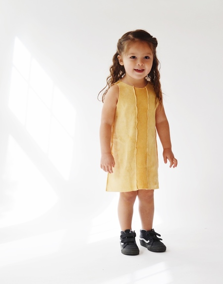 Kids Versatil-e Tank Dress, Desert