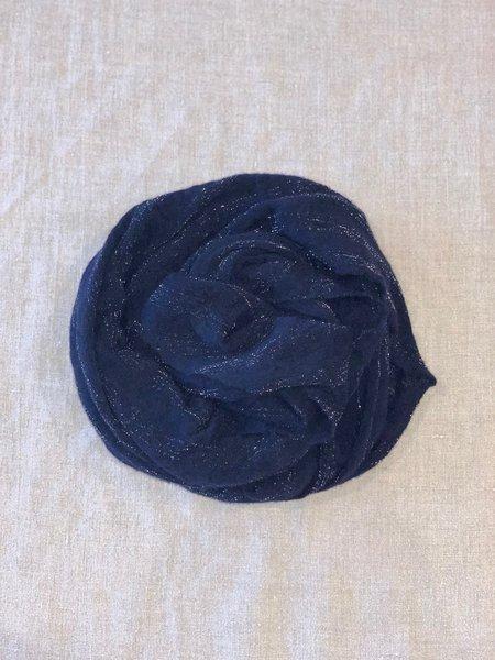 Mint Italian Cashmere Jersey Scarf - Sparkling Blue