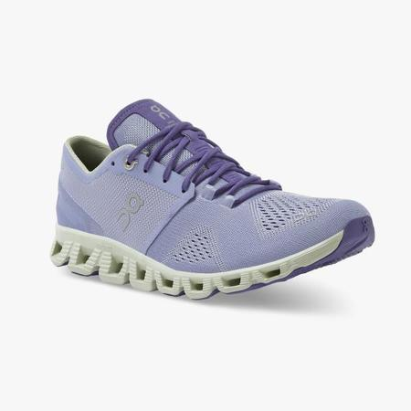 On Cloud X Sneakers - Lavender/Ice