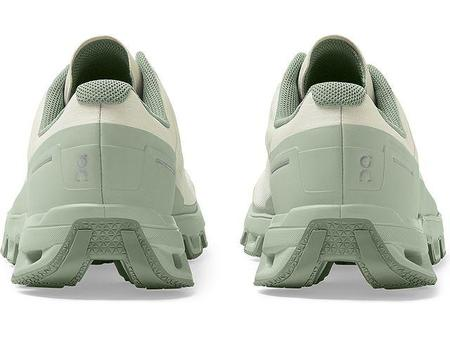 On Cloudventure Sneakers - White/Moss