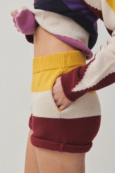 unisex Paradis Perdus JASPER shorts - Multi-color