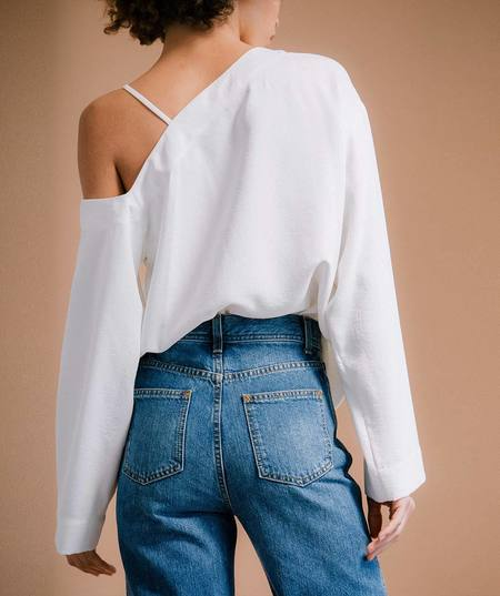 Nomia Laced Shoulder Top