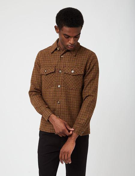 Portuguese Flannel Wool Field Jacket - Forest