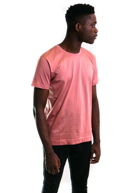 Norse Projects Esben Blind Stitch SS - Fusion Pink