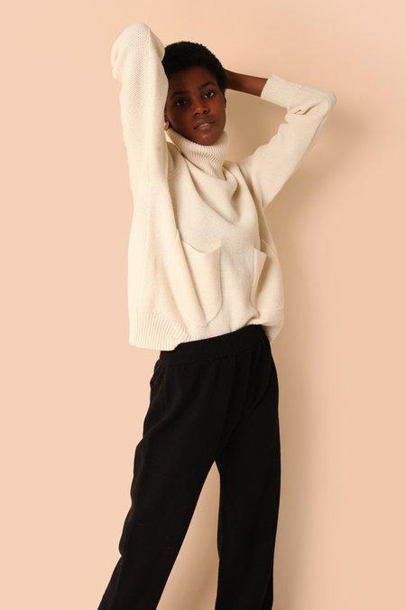 L.F.Markey Kael Knit Jumper - Off White