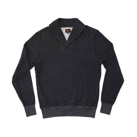 National Athletic Goods Shawl Pullover - Black