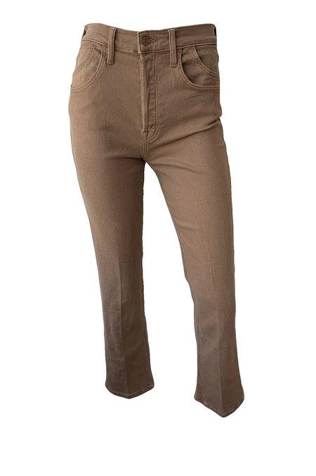 Mother Denim Stash Tripper Ankle Jeans - Beaver Fur