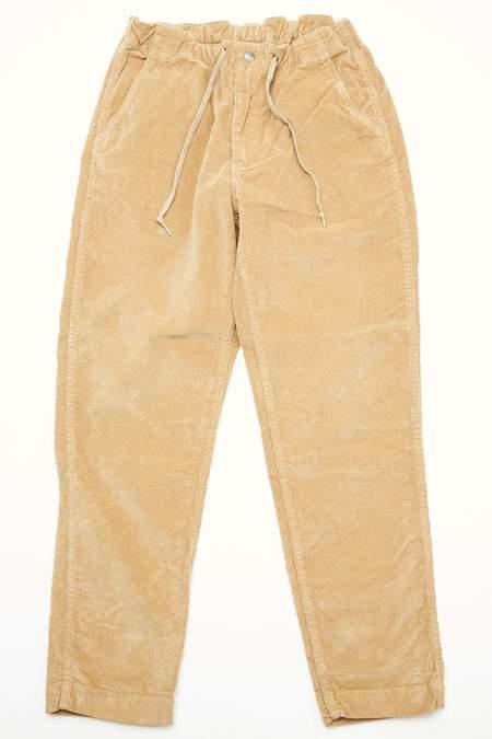 Orslow New Yorker Pants Stretch Corduroy - KHAKI
