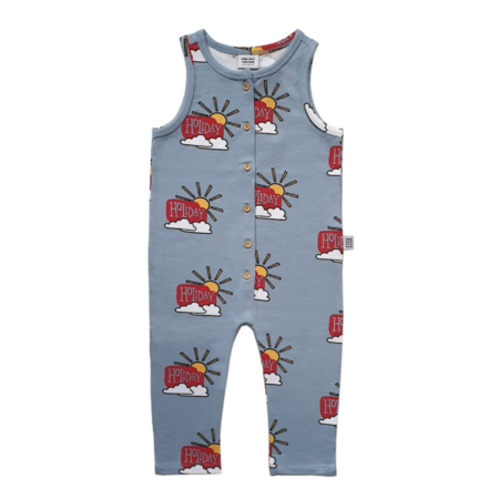 Kids One Day Parade Holiday Playsuit - blue