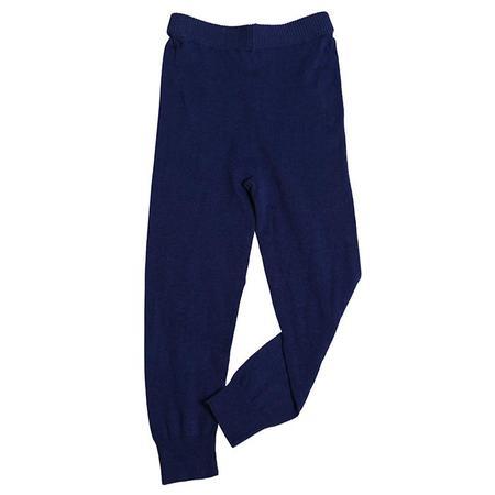 Tia Cibani Kids Baby Layering Leggings - Navy Blue/Cream