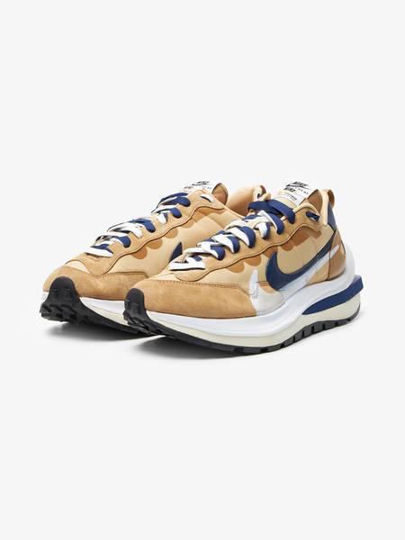 [Pre - Loved] Nike X Sacai Vaporwaffle Sneakers - Beige