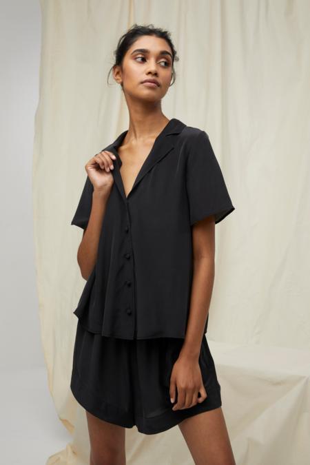 Lois Hazel Paradise Shirt - Black