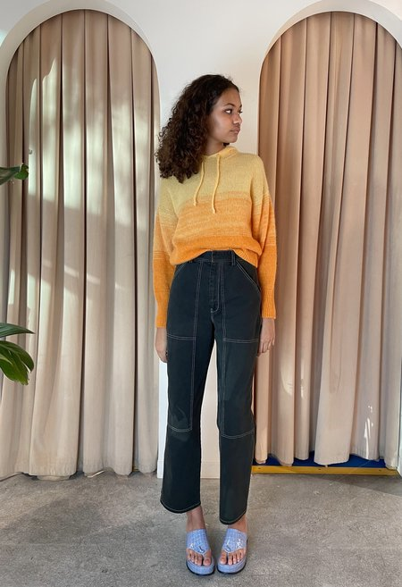 Paloma Wool Bilma Knit Hoodie - Orange