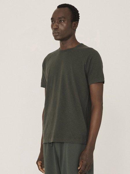 YMC Television Raglan T-Shirt - Green