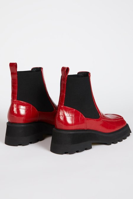 """""""INTENTIONALLY __________."""" CHAMPS boots - Cherry"""