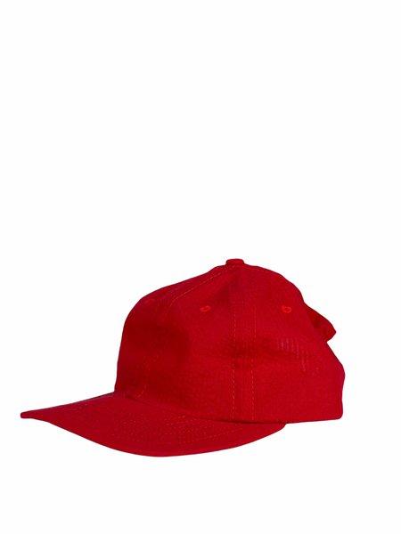 Lite Year SEERSUCKER SIX PANEL HAT - Red/Blue