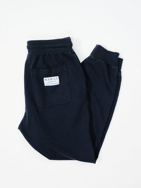 MAGILL EASTON FRENCH TERRY SWEATPANTS - NAVY