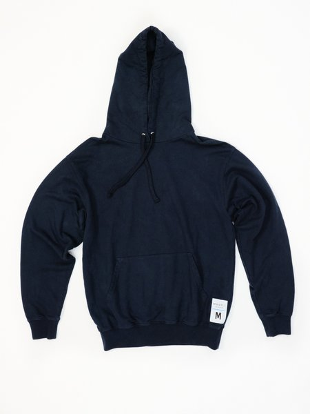 MAGILL ROBERT FRENCH TERRY HOODIE - NAVY
