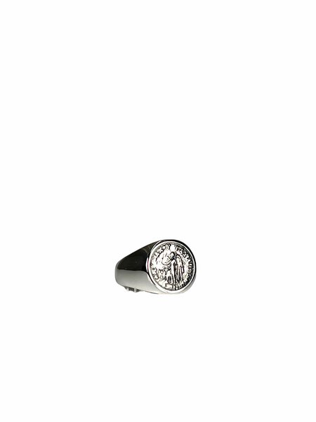 Tom Wood OVAL SIGNET - ANGEL COIN