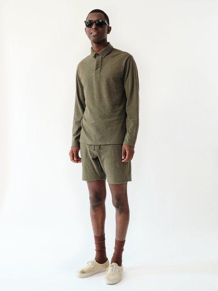 Magill Jake Cotton Pique Shorts - Olive
