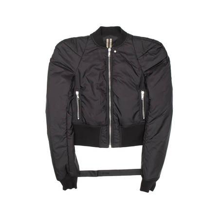RICK OWENS Men DRKSHDW Flight jacket - Black
