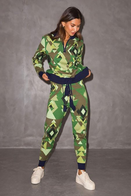 NEVER FULLY DRESSED Aspen Greens Knit Pant