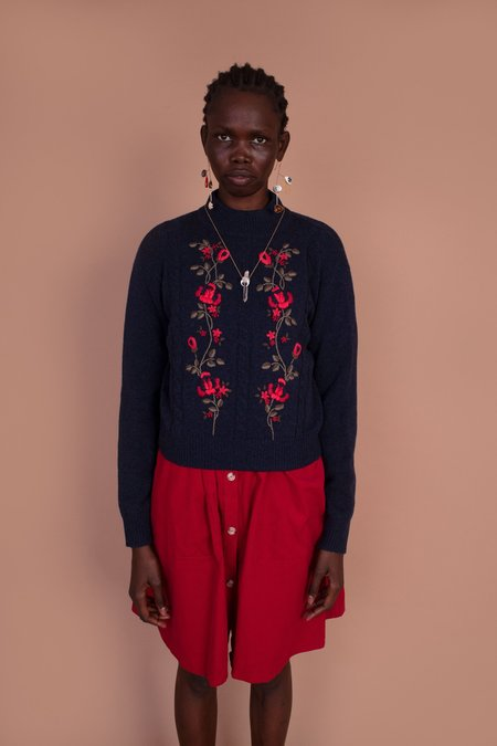 Meadows Filbert Knit jumper -  Navy