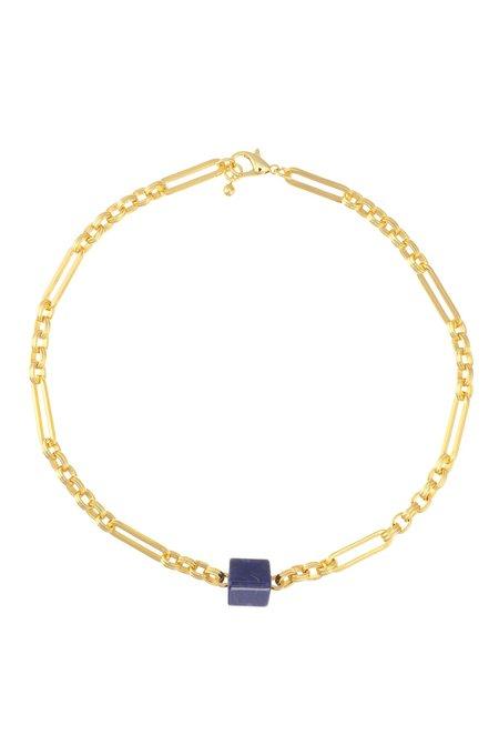 Talis Chains New York Choker - Blue Bead