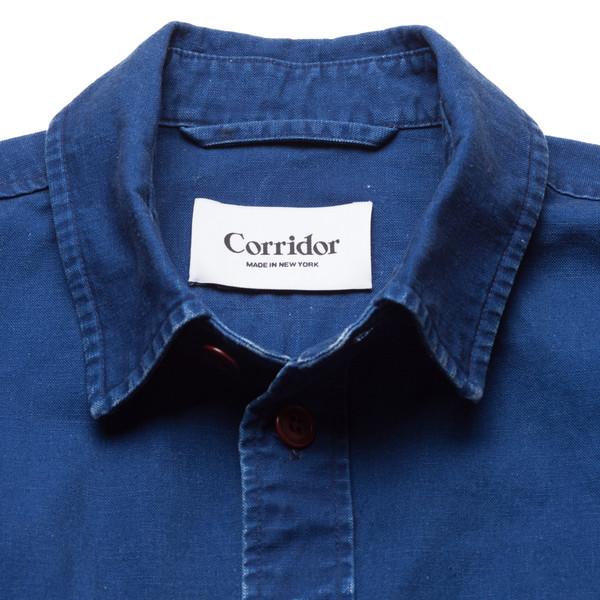 Corridor Duck Dyed Indigo Overshirt