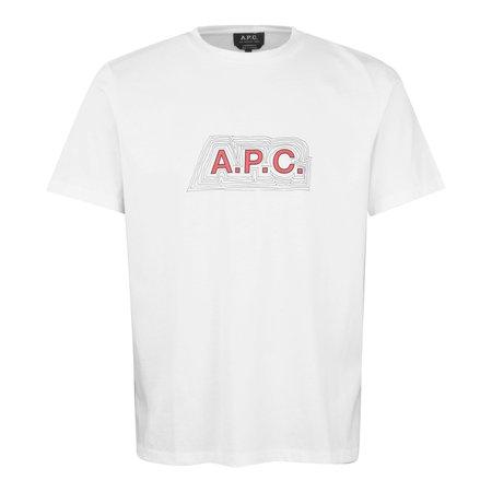 APC Garry Logo T-Shirt - White