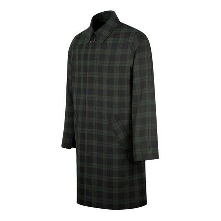 APC New England Technical Square Twill Mac jacket - Olive