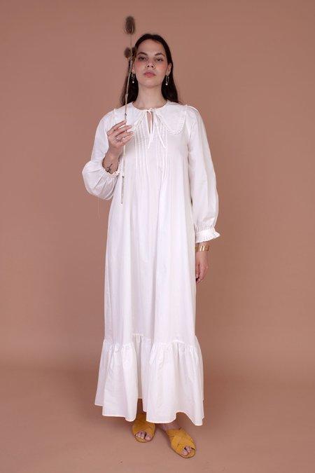 Meadows Diablo Dress - White Embroidery