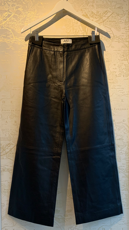 Just Female Roxy Leather Trouser