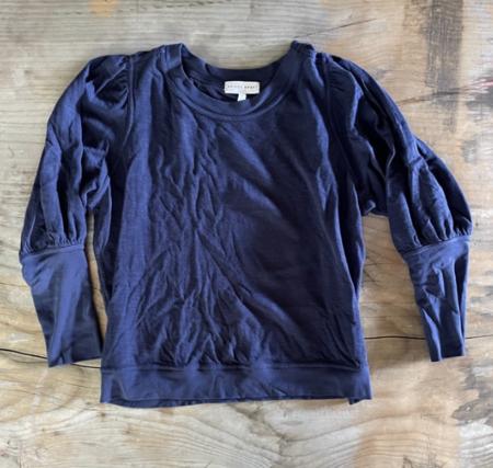 Pre-loved Apiece Apart Sweatshirt - navy